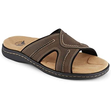ae8853730 Dockers Mens Sunland Casual Slide Sandal Shoe