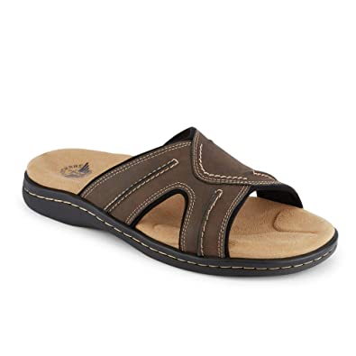 2f1156ee420ab4 Dockers Mens Sunland Casual Slide Sandal Shoe