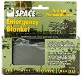 Grabber Outdoors The Original Space Brand Emergency Tactical-Survival Blanket- Olive-Drab/Silver (Pack of 3) Model: