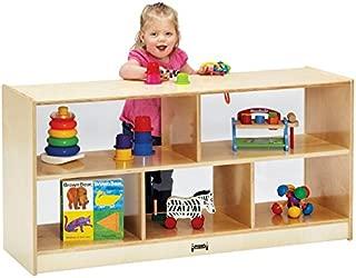 product image for Jonti-Craft 0324JCPL Toddler Single Mobile Storage Unit, See-Thru Back