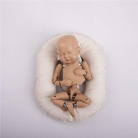 Jiheousty Neugeborene Posing Doll Joint Modell Fotografia Baby Fotografie Requisiten Zubehör Küche Haushalt