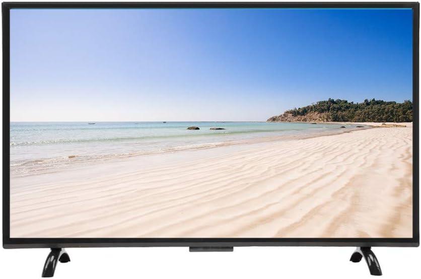 Kafuty Televisor de Pantalla Curva Grande de 55 Pulgadas Curvatura 3000R 4K Smart TV HDR HD Versión de Red de resolución 1920x1200 para Android 110V(EU Plug): Amazon.es: Electrónica