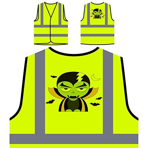 Q379v Giacca Sicurezza Halloween Art Visibilità Hi Personalizzato Gilet Di Artista pZxRUU