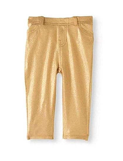 358ea27b25a00 Garanimals Gold Foil Sparkle Metallic Jeggings Baby Leggings Pants Various  Sizes (3-6 Months
