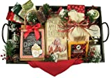 Gift Basket Drop Shipping ChBrTr-2 A Christmas Morning44; Deluxe Breakfast Tray