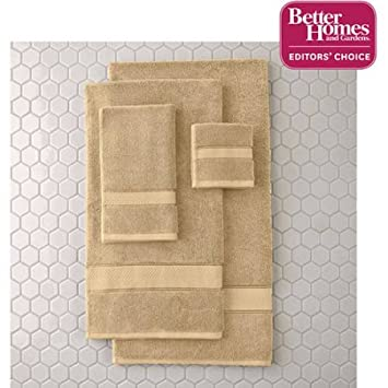Better Homes And Gardens Thick And Plush Bath Towel Collection   6 Piece  Bath Towel,