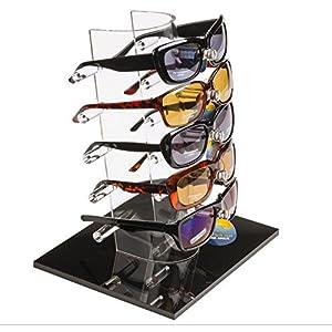 FixtureDisplays 5-Pair Sunglass Reading Glass Display Stand 11924 11924