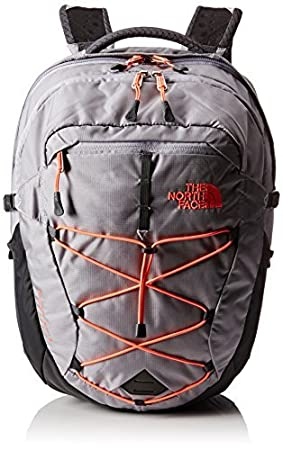18ece8446d Image Unavailable. Image not available for. Colour: THE NORTH FACE Women's  Borealis Backpack - Grey/Coral/Dapple ...
