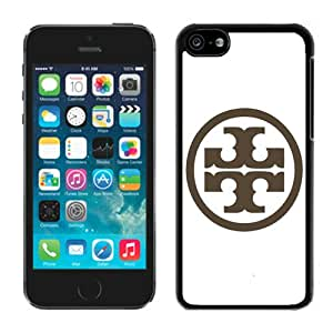 Popular Designed Phone Case For iPhone 5C With Tory Burch 08 Black Phone Case