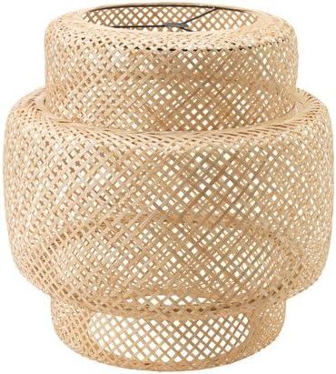 Ikea sinnerlig colgante bambú suave luz plafón lámpara