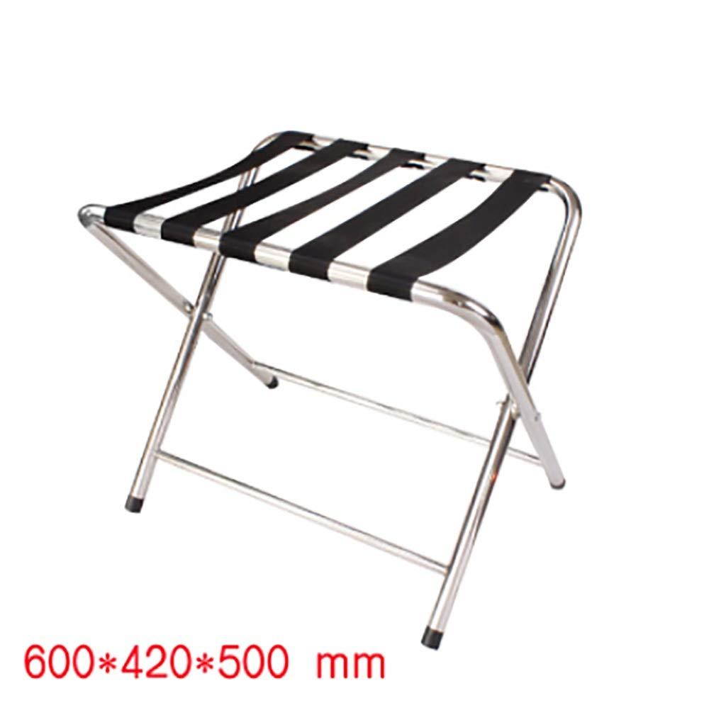 XLJ-YJ Hotel Luggage Rack Stainless Steel Room Luggage Rack High-end Display Rack Household Folding Storage Rack
