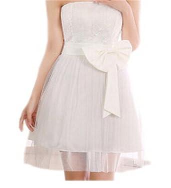 Amazon Elma Mall Womens Custom Bow Satin Formal Dress Size 8