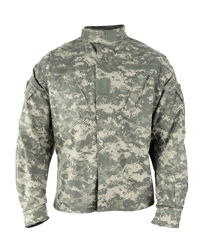 Propper Men's Army Combat Uniform (ACU) Coat, Universal Digital, Small X-Long