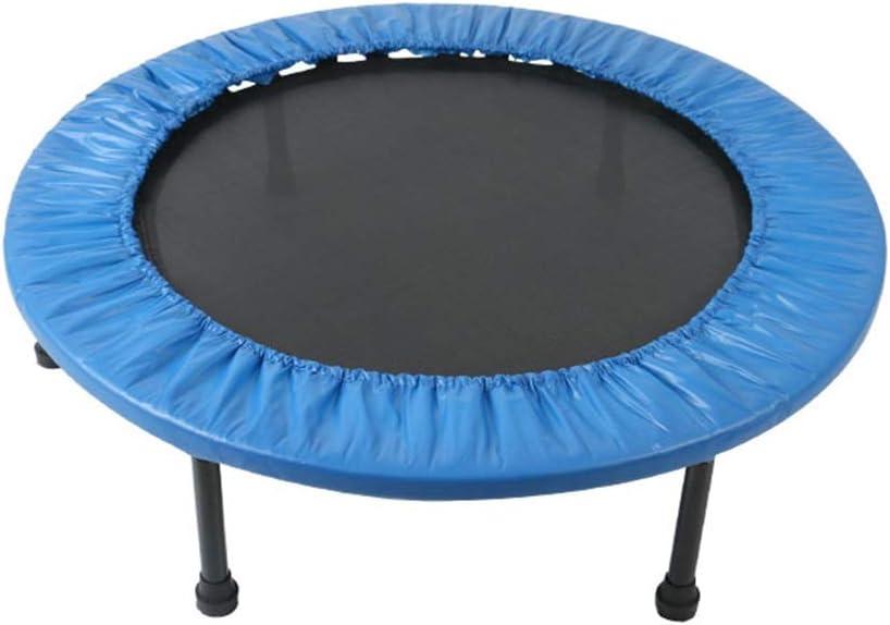 HANSHAN Trampolines Trampolín Infantiles, Actividades al Aire Libre Inicio Educación Física Juguete Equipo de la Aptitud Kinder Salto Azul Cama de 59 X 8 Pulgadas