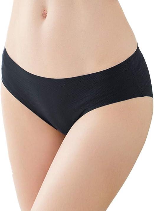 1Pack Women Soft Underpants Seamless Lingerie Briefs Panty Underwear Low-Wa N7A9