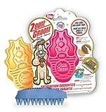KONG ZoomGroom, Dog Grooming Brush, Boysenberry, My Pet Supplies
