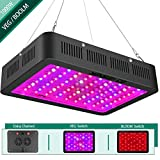 1000w LED Grow Light with Bloom and Veg Switch,Yehsence (15W LED) Triple-Chips LED