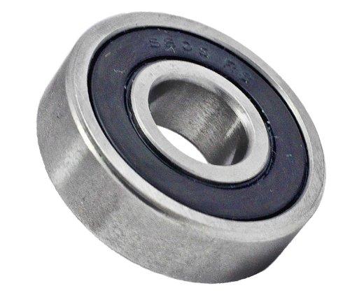 609-2RS Hybrid Ceramic Miniature Ball Bearing, 9x24x7 mm, Stainless, Si3N4, ABEC-5, Sealed