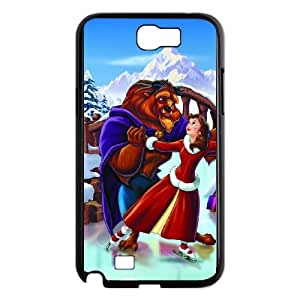 Samsung Galaxy N2 7100 Cell Phone Case Black Beauty and the Beast The Enchanted Christmas 09 Jtsty