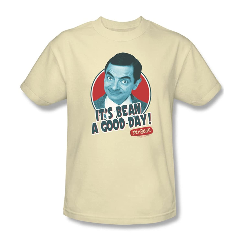 Mr Bean - Mens Good Day T-Shirt In Cream