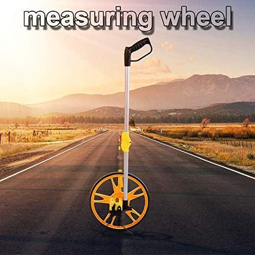 Measuring Wheel Roller Speedometer Measuring Wheel For Measurement Measuring Wheel Distance Measuring Wheel Mechanical Distance Measuring Wheel With Folding Handle Baumarkt