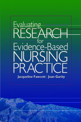 Evaluating Research for Evidence-Based Nursing Practice by Fawcett, Jacqueline/ Garity, Joan (EDT)
