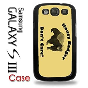 Samsung Galaxy S3 Plastic Case - Honey Badger Dont Give a Shit