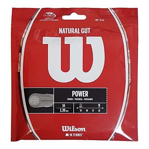 Wilson Natural Gut 17 Tennis String