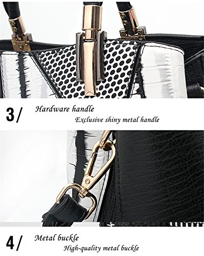 Woman Women Design Totes Shoulder Patchwork Serpentine Handbags Hobos Bags Luxury Leather Pink fAdBnq