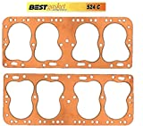 Cadillac LaSalle 322 346 COPPER Head Gaskets Pair (2) BEST 1937-1948 (Flat Head V-8)