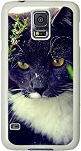 Cat Eyes Galaxy S5 Case, Galaxy S5 Cases - Compatible With Samsung Galaxy S5 SV i9600 - Samsung Galaxy S5 Case Durable Protective Case