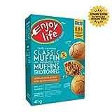 Enjoy Life Baking Mixes, Soy Free, Nut Free, Gluten Free, Dairy Free, Non GMO, Vegan, Muffin Mix, 411 Gram Box (6 Boxes)