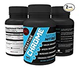 Creatine Chrome with Magnapower™ (Creatine Magnesium) — New Quality Creatine Formula Promotes Rapid Gains in Stamina, Strength and Lean Muscle Growth - 90ct, 30 Servings - Pack of Two