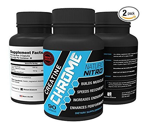 Optimum Saltwater (Creatine Chrome with Magnapower™ (Creatine Magnesium) — New Quality Creatine Formula Promotes Rapid Gains in Stamina, Strength and Lean Muscle Growth - 90ct, 30 Servings - Pack of)