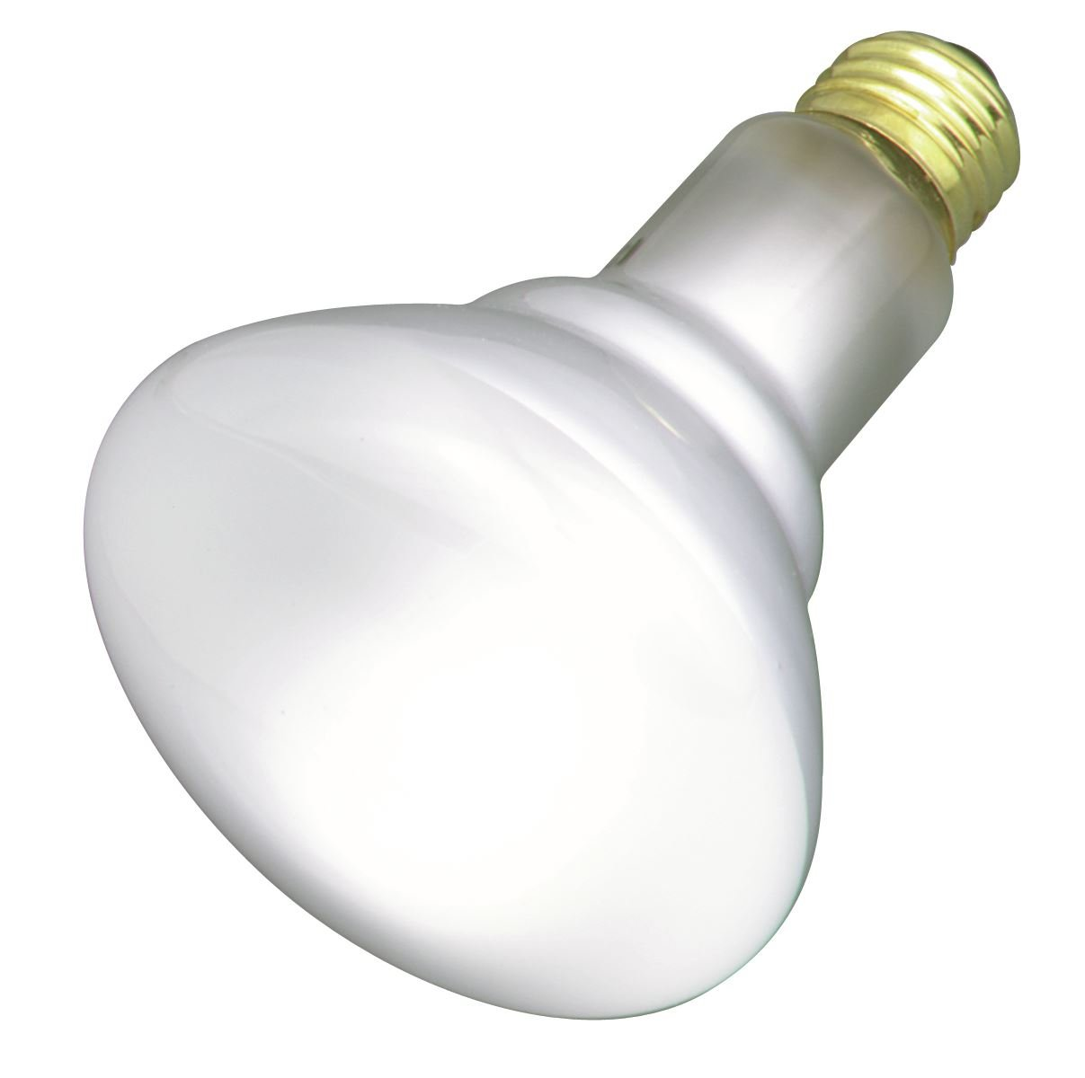 Satco 50BR30/FL Incandescent Reflector, 50W E26 BR30, Frosted Bulb [Pack of 24]