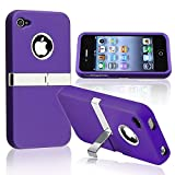 Insten Snap-on Case compatible with Apple iPhone 4 AT&T / Verizon / iPhone
