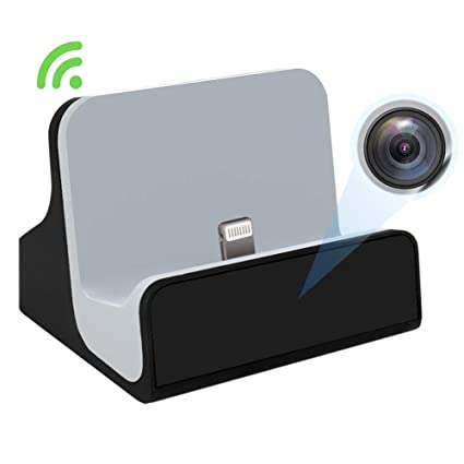 Linyu - Cargador para cámara Oculta Dock para iPhone WiFi Vista en ...