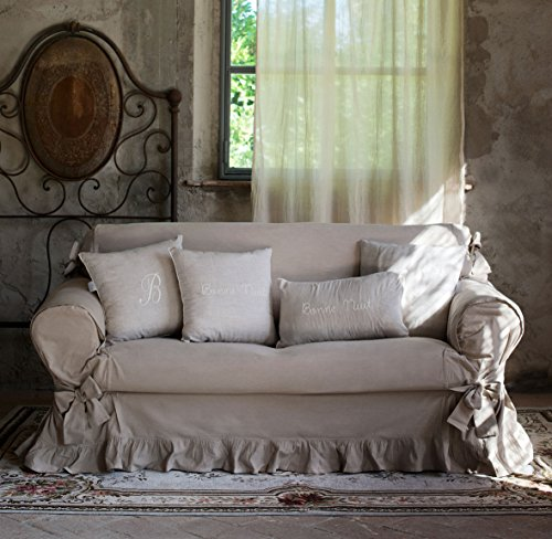 Blanc Mariclo Vintage Shabby Chic Farmhouse Couch Covers Sofa ...