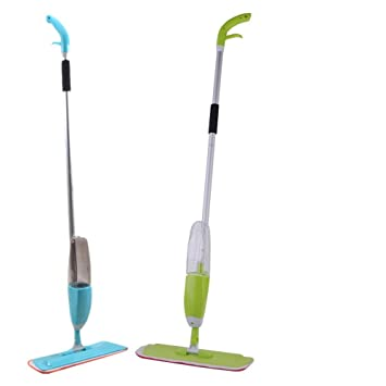 Generic Grün: 2 Farben Multifunktions Langlebig Umweltfreundliche Wasser  Verwendet Home Spray Mop Für Verschiedene Arten
