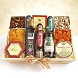 Something for Everyone | Gourmet Meat and Cheese Gift Basket - Ultimate XL by Organic Stores