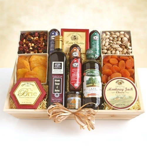Something for Everyone | Gourmet Meat and Cheese Gift Basket - Ultimate XL by Organic Stores by Organic Stores