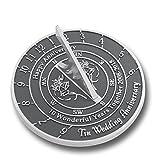 Tin Wedding Anniversary Sundial Gift