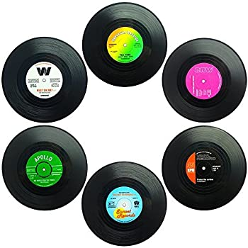 Amazon Com Vintage Record Coasters Upcycled Vintage