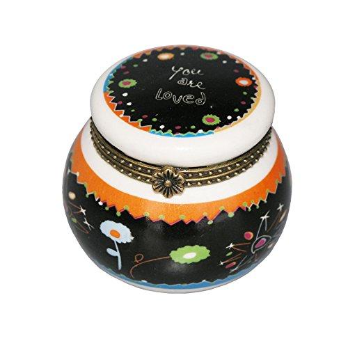 UPC 600606682206, Ceramic Trinket Box - Keepsake Box