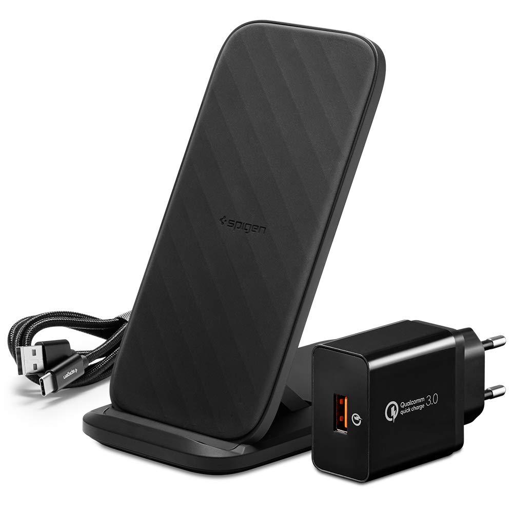 Spigen SteadiBoost Flex Ricarica Wireless Veloce Convertibile