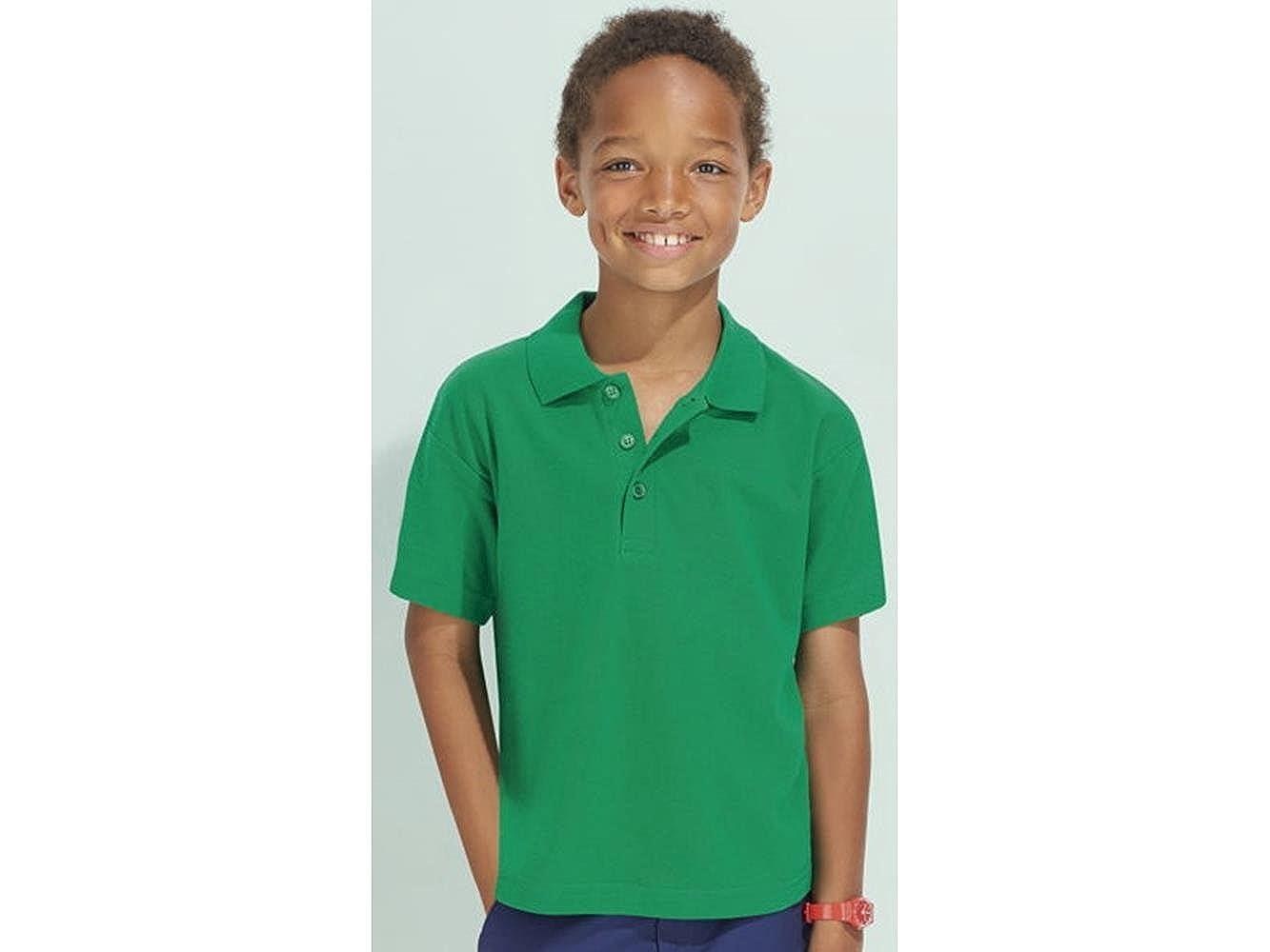 ATELIER DEL RICAMO Polo Bambino Summer II Kids SOLS
