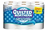 Health & Personal Care : Quilted Northern Bath Tissue Soft and Strong Double Roll, 12 Count (Case of 4)