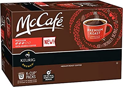 McCafe Premium Roast K-Cup Packs - 12 count (Pack of 6)