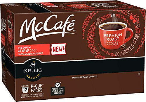 McCafe 100% Premium Arabica Medium Roast K-Cup Packs - 12 count