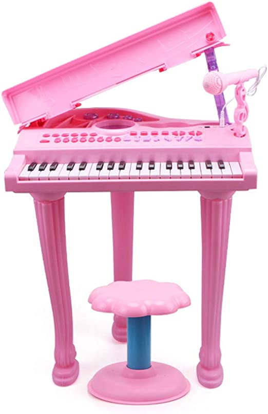 Piano De Juguete Musical para Niños con Simulación De 37 Teclas, 8 ...